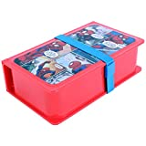 Marvel Spiderman Plastic Lunch Box Set, ...