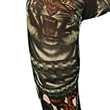 Tattoo Arm Sleeves,Clode® Unisex Slip On Tattoo Sun Protection Arm Sleeves Compression - Men, Women & Youth Basketball Shooter Sleeve - Best Protection For UV Sun - Elbow Warmers For Football, Baseball, Running, Volleyball, & Athletic Sports (A)