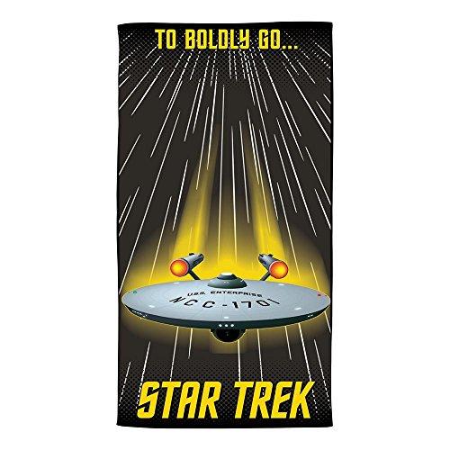 Star Trek Die auf Gone vor Beach Handtuch