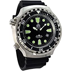 Diver Watch Tauchmeister with helium valve left 1000 MT