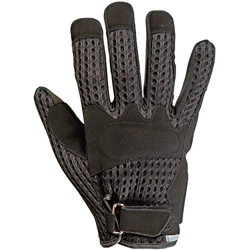 ZONZO Guanti Crystal Taglia XL nero Gloves Crystal Size XL black