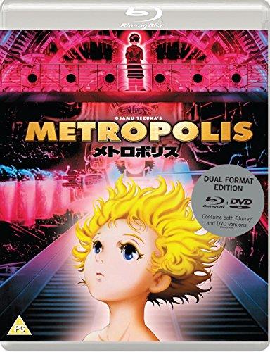OSAMU TEZUKAS METROPOLIS (Standard Dual-Format Edition) [Blu-ray] [UK Import]