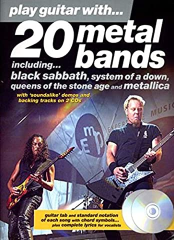 Play Guitar With 20 Metal Bands + (Black Metal Music Band)