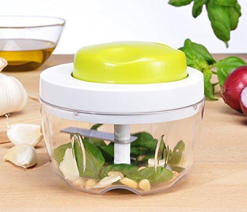 manueller Multi-Zerkleinerer Zwiebelhacker Gemüseschneider Knoblauchschneider Zwiebelschneider