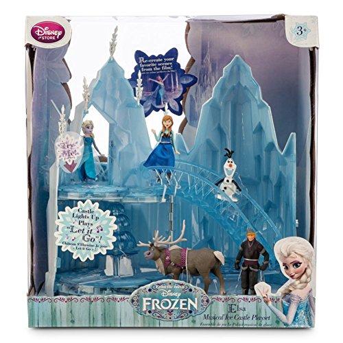 Disney Media Storage (Disney - Die Eiskönigin / Frozen - völlig unverfroren - Elsa Eisschloss-Spielset mit Musik)