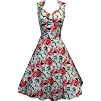 Pretty Kitty Fashion -  Vestito  - Floreale - Donna
