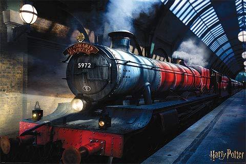Harry Potter - Hogwarts - Express - Film Kino Movie Plakat Poster Druck - Größe 91,5x61 cm - Express-film-poster