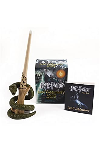 Harry Potter Voldemort's Wand with Sticker Kit: Lights Up