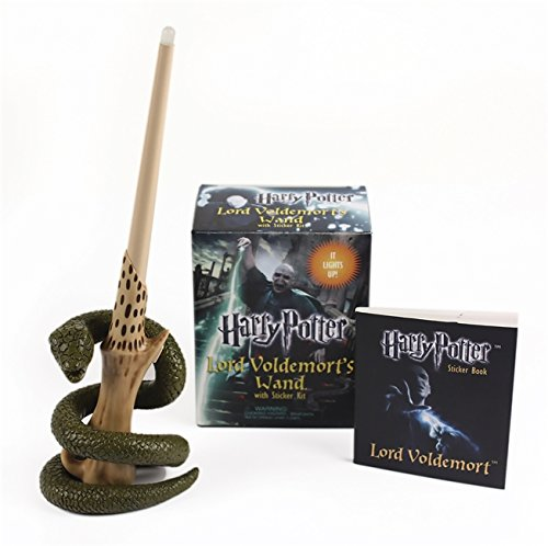 rt's Wand with Sticker Kit: Lights Up! (Miniature Editions) ()