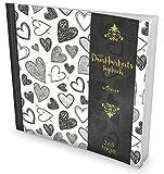 GOCKLER® Dankbarkeits-Tagebuch: 365 Tage Erfolgs Journal für mehr Achtsamkeit, Gelassenheit & Glück im Leben +++ NEUE AUFLAGE mit glänzendem Softcover +++ DesignArt.: Sketchy Hearts