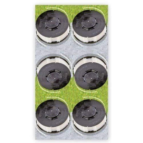 6 x Ersatzfadenspule Gardenline Trimmer Einhell ALDI