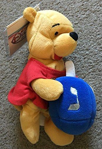 Pooh Beanie Bean Bag (Disney - Winnie the Pooh Hanukkah Mini Bean Bag 8 by Beanies)