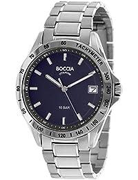 Boccia Herren-Armbanduhr 3597-01