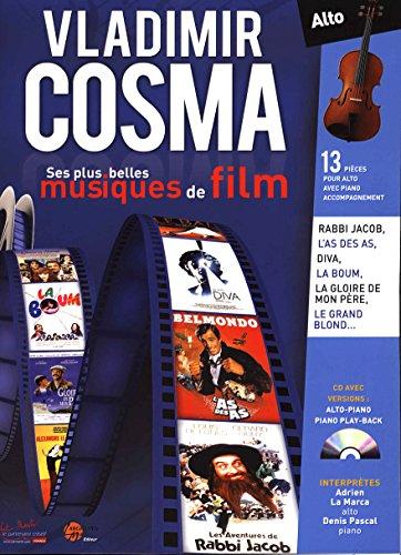 Vladimir Cosma ses plus belles musiques de film pour violon alto