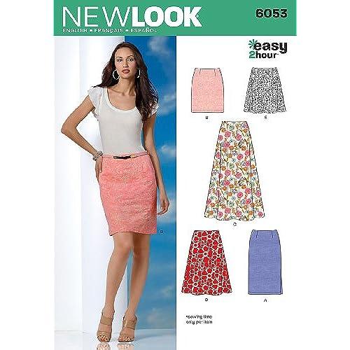 Easy Skirt Sewing Pattern: Amazon.co.uk
