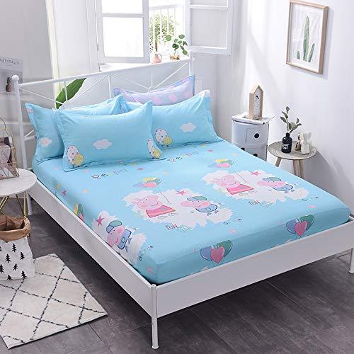 huyiming Verwendet für Bettdecke Einzelstück 1,8 Blatt Bettdecke rutschfeste staubdichte Bettdecke Schutz Matratzenbezug 1,8 * 2