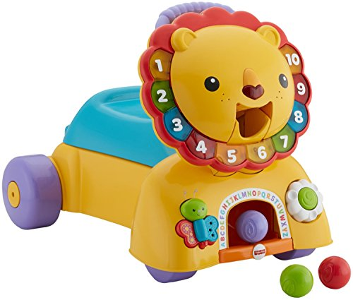 Fisher-Price 3-in-1 Sit, Stride & Ride Lion by Fisher-Price
