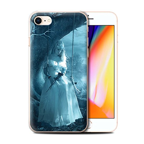 Officiel Elena Dudina Coque / Etui pour Apple iPhone 8 / Luz Sombra Design / Art Amour Collection Luz Sombra