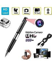 SekyuritiBijon HD Spy Pen Hidden with HD Quality Audio/Video Recording,16GB Card Support Spy Camera