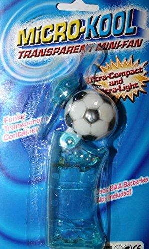 Micro Kool Super Cool Persönlichen Pocket Fan Euro Fußball Mini Fan (Betrieben Kostüm Fan)