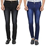 MagicAttitude Men Jeans pack of 2