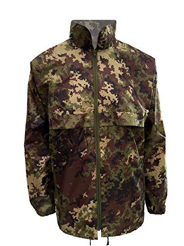ALGI K-Way in Wind/Waterprof Jacket (L)