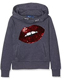 Tom Tailor Hoody with Dot Details, Sweat-Shirt Fille