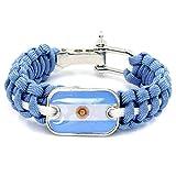 WEI Armband-Weltmeisterschaft-Nationalmannschaft, die dekoratives Armband-Fan-Geschenk spinnt,Argentinien,Einheitsgröße