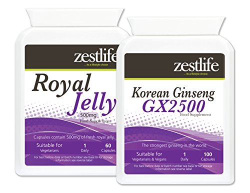 Zestlife Ginseng coreano e pappa reale combinazione Lifestyle Support