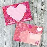 galleryy.net 52 Postkarten Hochzeit - PORTOFREI möglich - Postkarten Set Hochzeit mit 52 Karten zur Hochzeit. Hochzeitsspiele mit Karten für Gäste und Brautpaar. Gute Wünsche Karten Herz