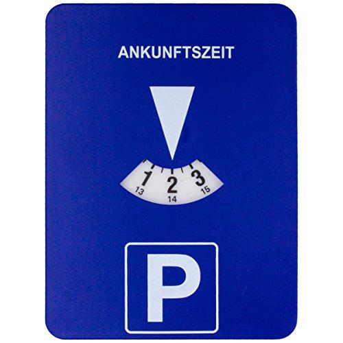 Preisvergleich Produktbild Parkscheibe mit elektronischem Uhr-Werk Automatische Zeiteinstellung