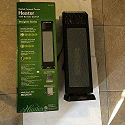Digital Ceramic Tower Heater 1500-watt 24 inch