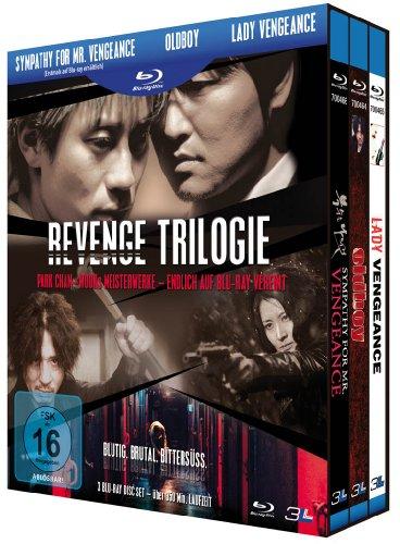 Bild von Revenge Trilogie: Sympathy for Mr. Vengeance / Oldboy / Lady Vengeance [3 Blu-rays]
