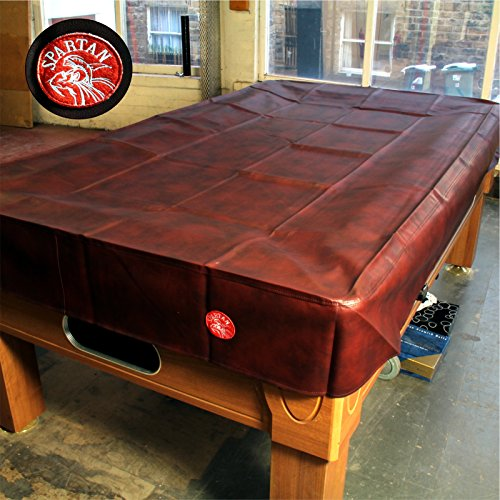 Spartan Heavy Duty wasserabweisend 9ft American Pool Table Cover–9ft Burgund