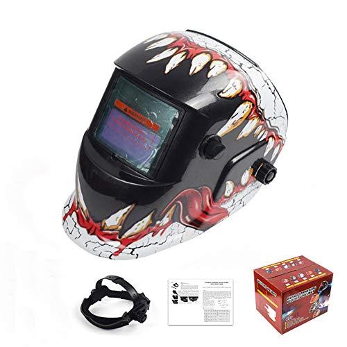 Solar Power Auto Verdunkelung Schweißhelm Hood Schweißer Maske Breathable Grinding Helme Mit Einstellbare Schatten Range