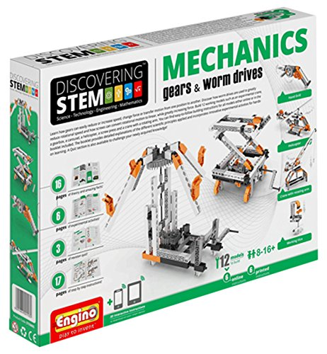 engino-stem-mechanics-gears-and-worm-drives-set
