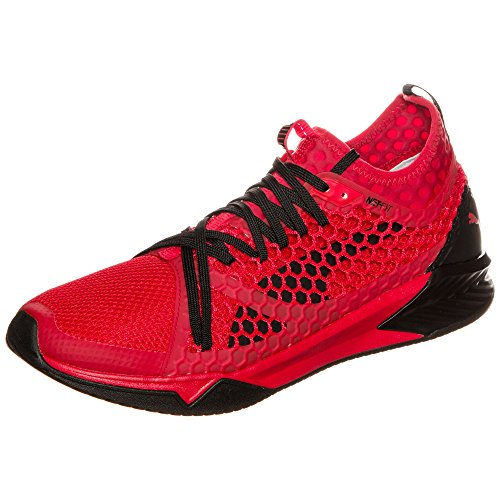Puma Ignite Xt Netfit, Scarpe Sportive Indoor Uomo Rosso (Toreador-black)
