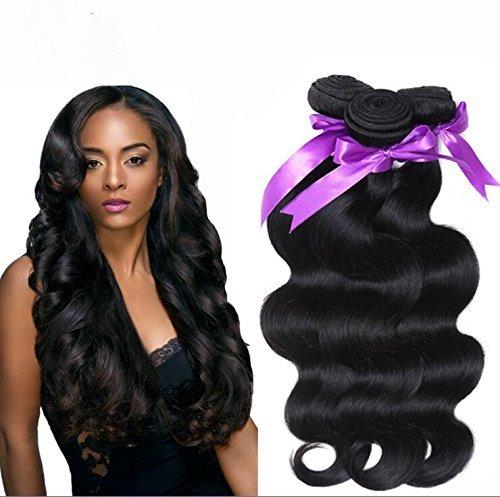 40,6 cm 8 A vierges péruviens non traités teindre tissage cheveux humains Bundle 1 50 g/Bundle