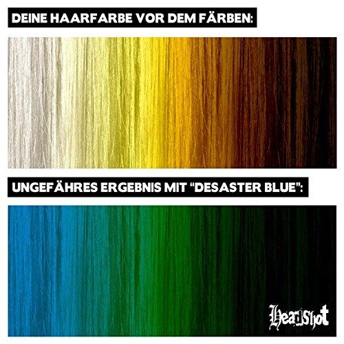 Headshot Desaster Blue Haarfarbe 150 ml - 2