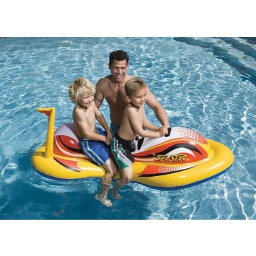 Wave Pool Float (Intex Kinder Fun Schwimmbad Aqua Play aufblasbar Sea Star Wave Rider Float Spielzeug)
