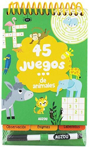 45 juegos: de animales