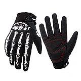 Yodensity Fahrrad Motorrad Warm Handschuhe Skelett Hände Style für Winter Radfahren in Größe M/L/XL