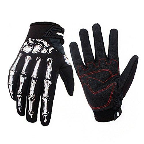 torrad Warm Handschuhe Skelett Hände Style für Winter Radfahren in Größe M/L/XL ()