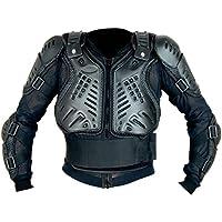 Motocross Enduro Erwachsenen Off Road Körperpanzer Jacke Motorradschutzweste Schwarz L
