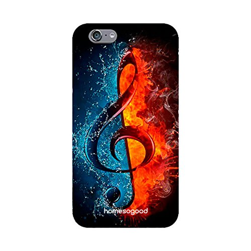 HomeSoGood Hot And Cold Music Multicolor For iPhone 6S (Back Cover)
