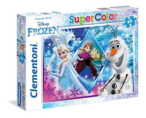Clementoni 26917.4 - Puzzle Eiskönigin, 60 Teile