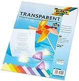 Folia 87409 - Transparentpapier A4 115 g 10 Blatt farbig