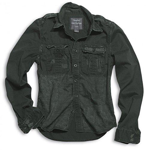 Preisvergleich Produktbild Surplus 1/1 Raw Vintage Shirt XXL Schwarz
