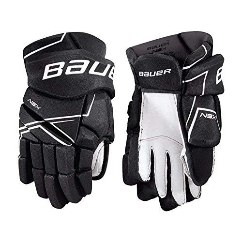 Bauer Handschuhe NSX S18 Junior Farbe Schwarz, Größe 11 Zoll Junior-handschuhe