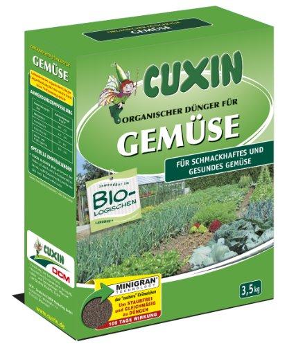 Cuxin organischer Gemüsedünger - 3,5 kg